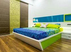 Living Room Interior Bedroom Designing Service, Wood Work & Furniture