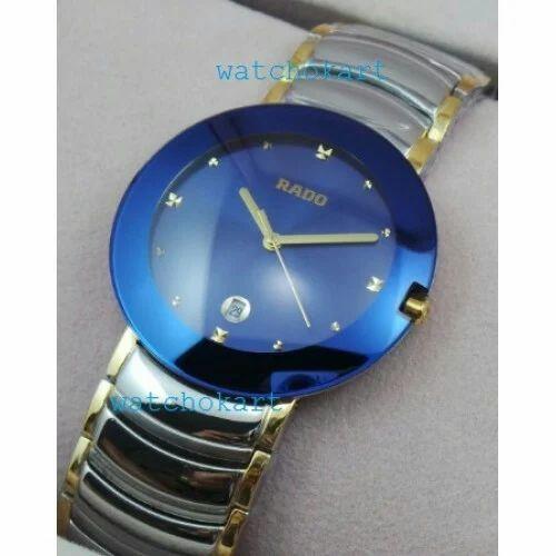 89783e448 Rado Centrix jubile Blue Dail Dual Tone Watch at Rs 1850 /piece ...