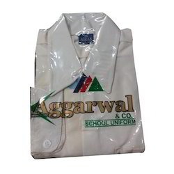 Cotton School Uniform White Shirt