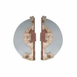 Double Flange Core Metallic Pattern