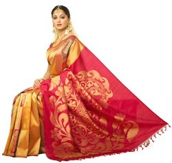 Wedding Wear And Bridal Wear Export Quality Silk Sarees