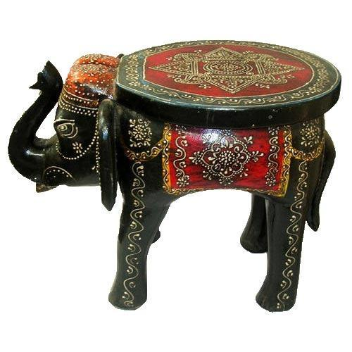 Awe Inspiring Wooden Stool Elephant Onthecornerstone Fun Painted Chair Ideas Images Onthecornerstoneorg