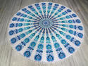 Indian Wall Hanging Cotton Floral Mandala Tapestry