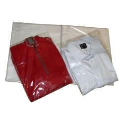 Plain Transparent PVC T- Shirt Packing Bags, for Apparel, Capacity: 1 Kg