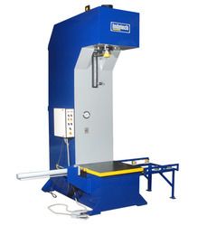 Color Coated C Frame Hydraulic Press