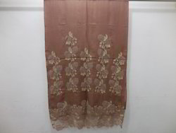 50% Wool & 50% Silk Casual Wear Designer Stole with Lace Work