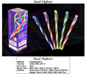 Plastic Direct Filled Real Fighter Ball Pen, For Writing