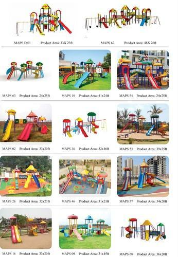 Polymer Fiber Play Ground Equipment
