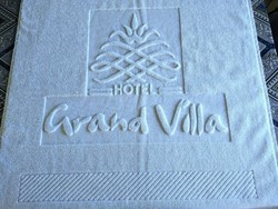 Cotton Name Embossed Bath Towels