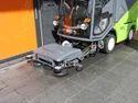 Tennant Green Sweeping Machine