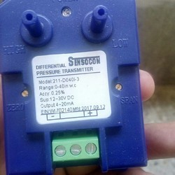 Sensocon USA 211-D006I-3 Differential pressure transmitter