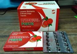 Lycopene Multivitamin Antioxidant Soft Gel Capsules