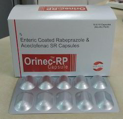 Enteric Coated Rabeprazole And Aceclofenac SR Capsules