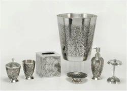 Brass Bathroom Accessories, For Hotel, Size: Custom