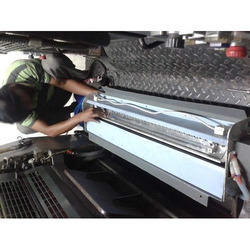 UV Interdeck Attachment on Offset Printing Machines