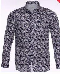 Printed Slim Fit Formal Shirt