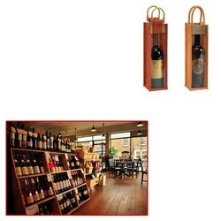 Wine Bottle Bags For Wine Shop