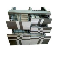 Stainless Steel  Modular Kitchen Cabinet