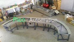 180 Degree Power Roller Conveyor