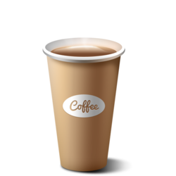Coffee Paper Cups, Capacity: 40-350 mL