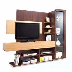 Wooden Finish Design TV Units