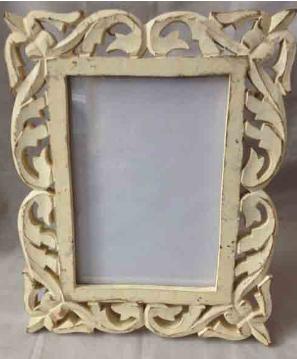 Fancy Wooden Mirror Frame at Rs 450 piece Shahbilol Saharanpur