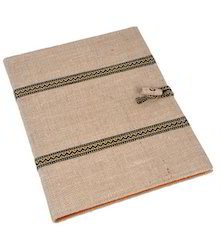 Jute Folder With The Loop
