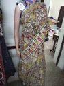 Kalmkari Silk Sarees