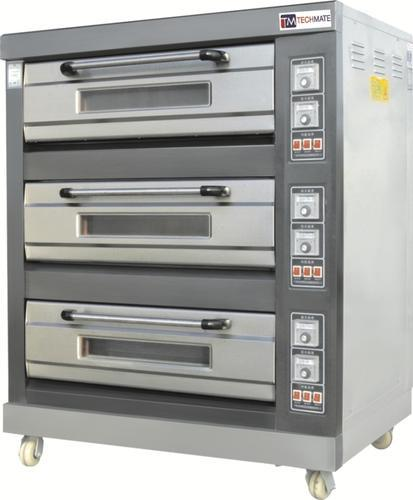 Three Deck Backing Oven