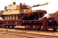 BFAT - 6 Axle Wagon For Carrying Military Tank