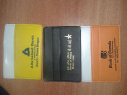 ATM FD Pass Book Cheque Book Covers