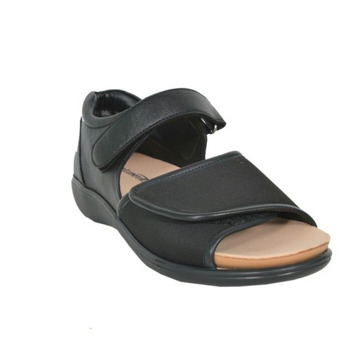 Mediconfort Black Diabetic Medical Shoes Size 36 To 41 Id