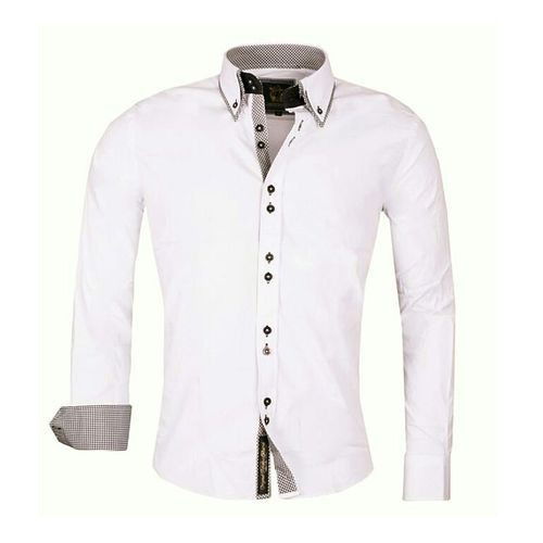 Plain Cotton Shirt - Mens Plain White Cotton Shirt Wholesale ...