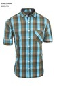 Men Cotton Casual Checked Shirt, Size: Xl