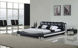 Designer Leather Bed at Rs 25000 /piece | Vikas Puri | Delhi | ID:  10848514630