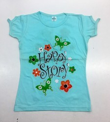 Cotton Casual Wear Kids Printed T-Shirts, Age: 6 To 15 Years