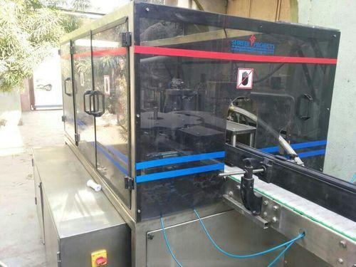 Shreeji projects Stainless Steel Hot Melt Labeling Machine, Capacity: 40bpm, Model: BOPP LABELLING