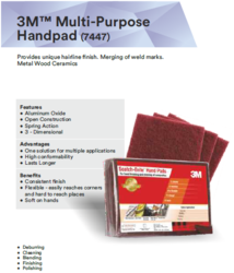 Abrasive - Multi Purpose Hand Pad Wholesale Distributor from Surat