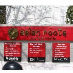 3D Brass Letter Signboard