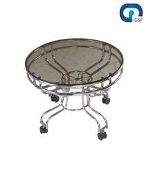 Modern Round Steel Table