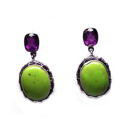 Stylish Stone Earrings
