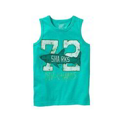 Printed Cotton Kids Top, Age: 3-5 Years