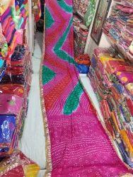 Silk Bandhani Saree