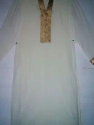 S/M/L/XL A-Line Chinan Silk Kurty