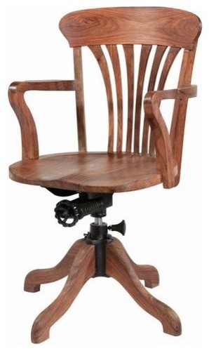 Wooden Swivel Office Chair At Rs 4500