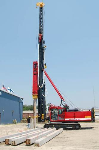 Automatic Pile Driving Rigs, Capacity: 50-150 feet, Model: PPR 48-30