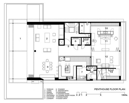 Architectural Layout Plan IT Technology Services from Pune