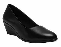 Office Wear Black Women Formal Shoes