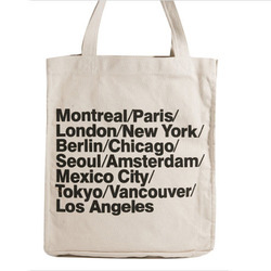 Customized Canvas Tote Bags