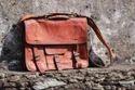 Leather Laptop Bag/ Office Bag, Side Sling Bag.
